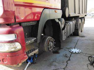 шиномонтаж грузовых автомобилей