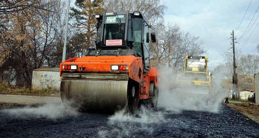 ремонт убитых дорог в Нижнем Новгороде