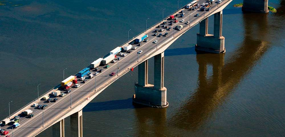 Мызинский мост Нижнего Новгорода