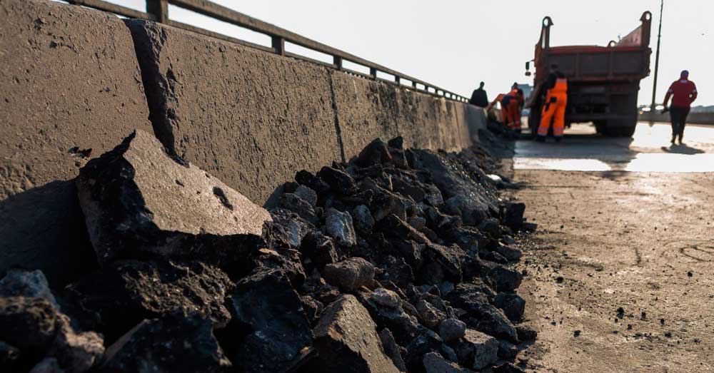 ремонт Мызинского моста